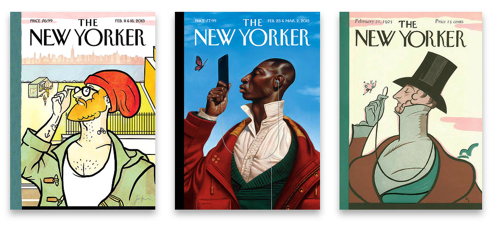 Some New Yorker covers