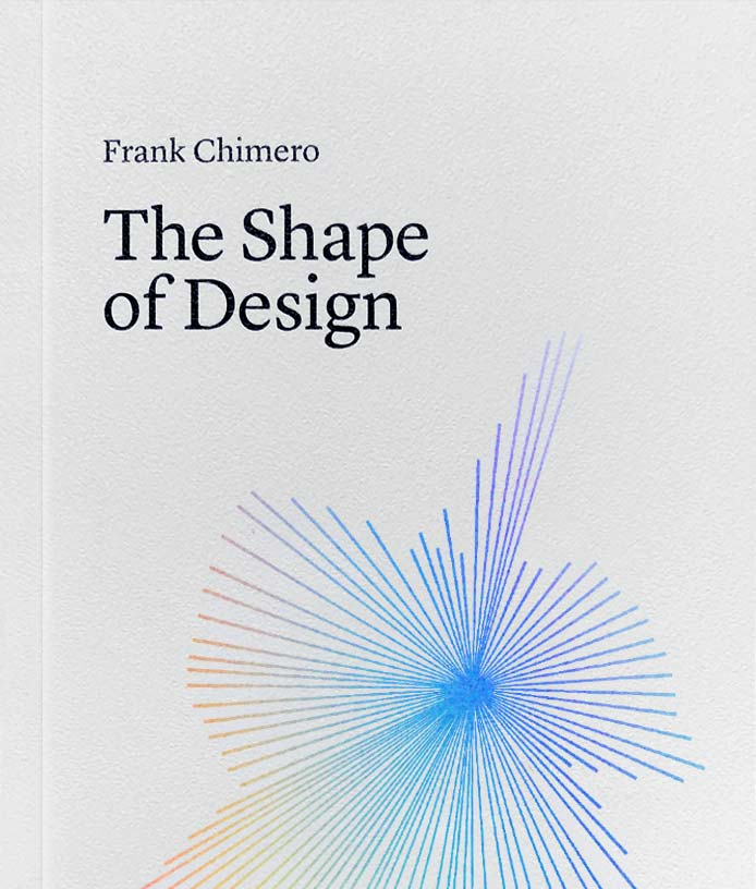 The Shape of Design Cover.